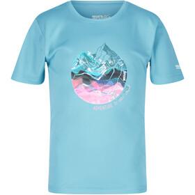 Regatta Alvarado V T-Shirt Kinderen, cool aqua
